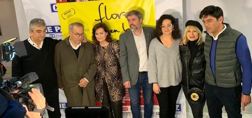 """SOTERMUN y USO, en el estreno de la película """"Flores en la Basura"""""""