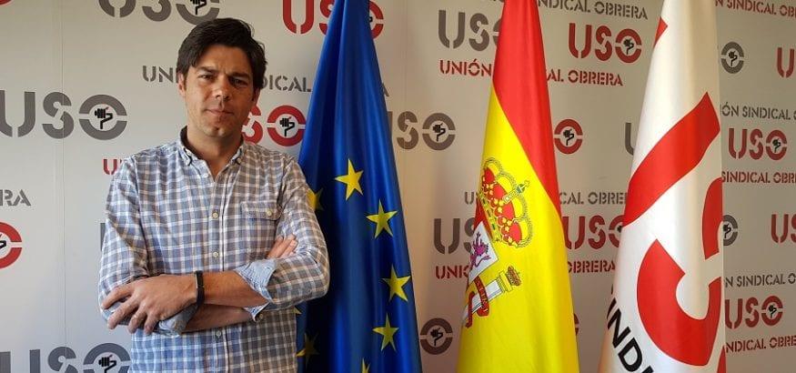 El secretario general de USO, Joaquín Pérez, pide una transición sindical tras las elecciones generales