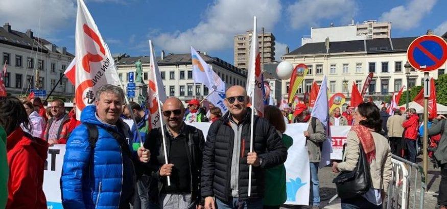 USO acude a Bruselas a la euromanifestación convocada por la CES