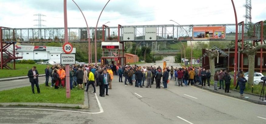 Seguimiento del 100% de la huelga en Arcelor por la recuperación de los salarios