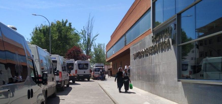 Los trabajadores de Ambulancias Tenorio suspenden la convocatoria de huelga indefinida