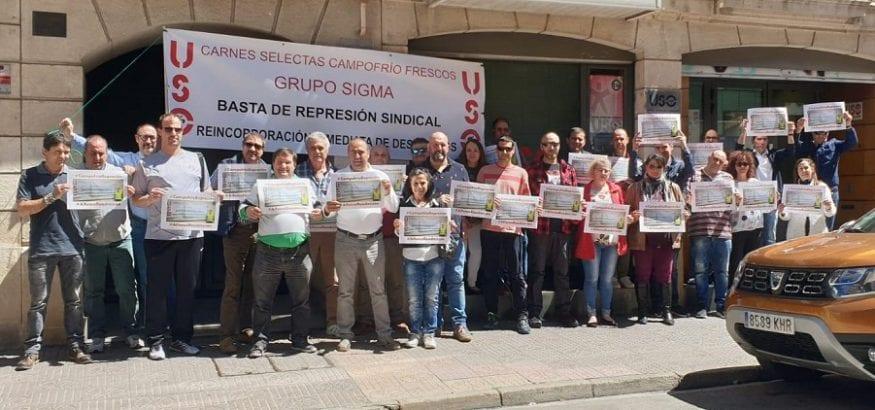 Mañana, juicio por la readmisión de Alfonso Callejo por persecución sindical en Campofrío