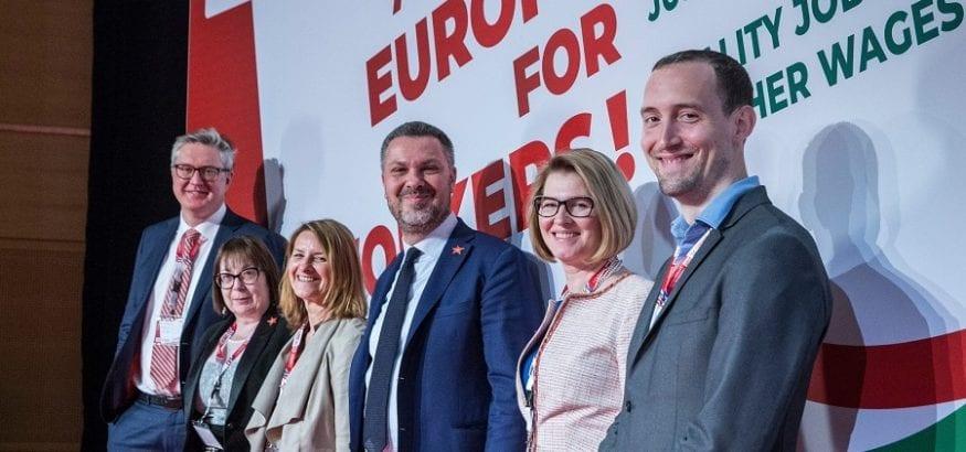 Luca Visentini continuará al frente de la Confederación Europea de Sindicatos, la CES-ETUC
