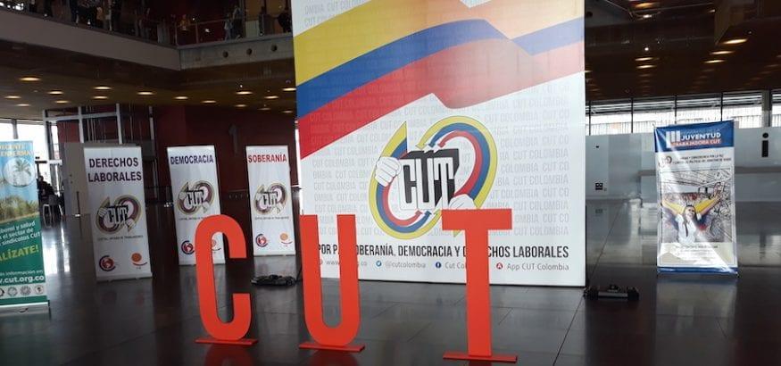 USO, en el VII Congreso de la CUT de Colombia