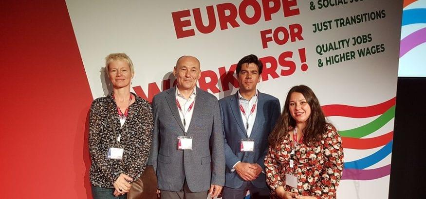 USO participa en el 14º Congreso de la CES, que comienza en Viena