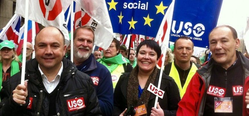 USO reclama mayor Justicia Social en el Día de Europa