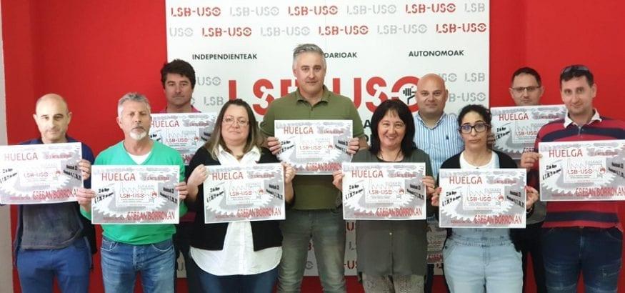 La Federación de Industria de Euskadi llama a la huelga del metal en Bizkaia desde el 23 de mayo
