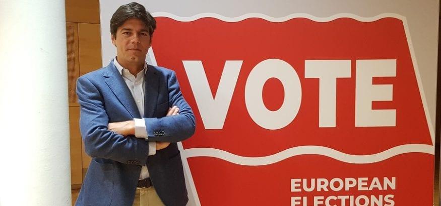 Joaquín Pérez llama a una participación masiva en las elecciones europeas en defensa del proyecto común