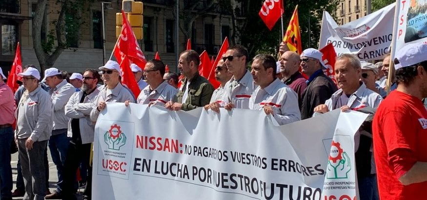 El comité de Nissan considera una falta de respeto la falta de voluntad negociadora de la compañía