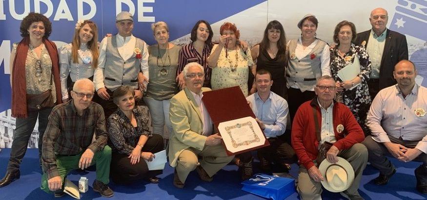 USO, como parte de la MERP, recibe la Medalla de Oro del Ayuntamiento de Madrid