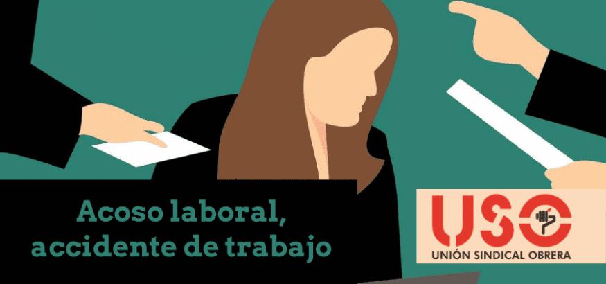 Sentencia reconoce el acoso laboral como accidente de trabajo