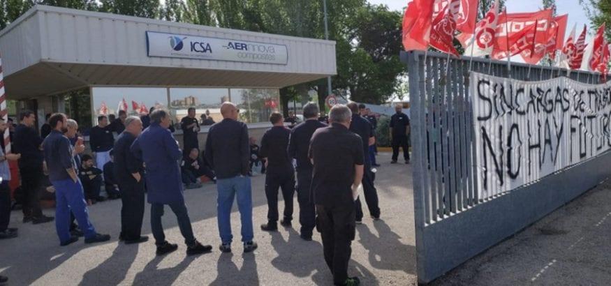 La plantilla de ICSA interrumpe la huelga tras recibir una propuesta de aumento de trabajo