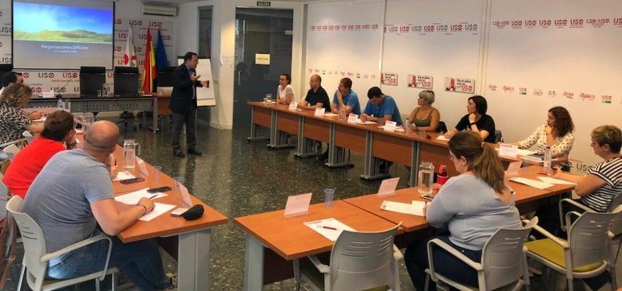 17 participantes del FDF se forman en Técnicas de Negociación