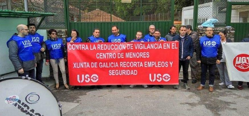 FTSP-USO advierte del incremento de agresiones a vigilantes en centros de menores gallegos
