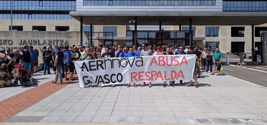LSB-USO se reúne con Aernnova tras incumplimiento de los acuerdos por parte de la empresa
