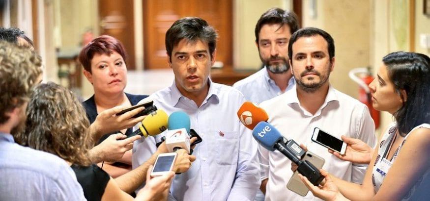 Joaquín Pérez traslada a Unidas Podemos la urgencia de una legislatura centrada en el empleo de calidad