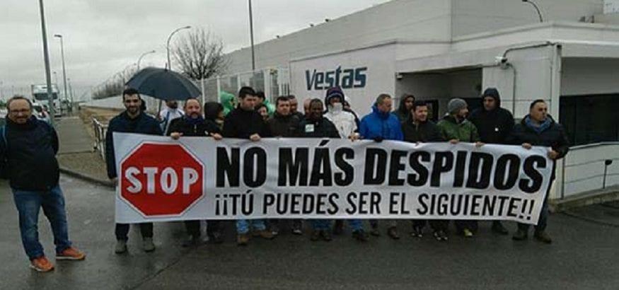 Los trabajadores de Vestas Daimiel denuncian despidos y la dura política de personal de la empresa