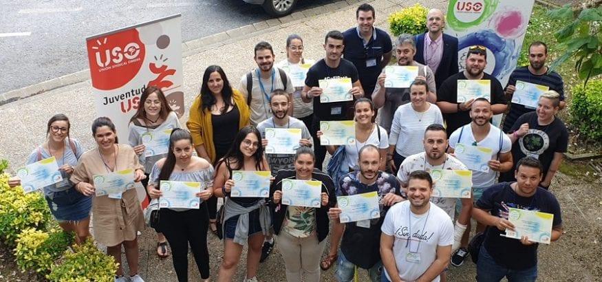 Finaliza la II Escuela de Verano de USO, albergada por LSB-USO Euskadi