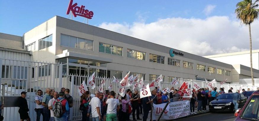 Rotundo éxito de seguimiento en la primera jornada de huelga de Kalise