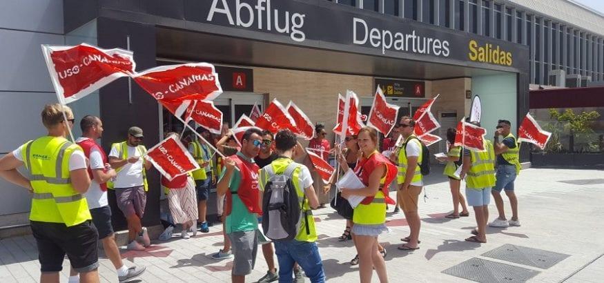 USO y Sitcpla convocan diez días de huelga en septiembre en Ryanair