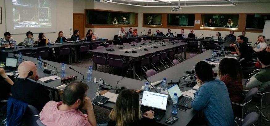 USO participa en el Comité de Prensa, Comunicación y Campañas de la CES