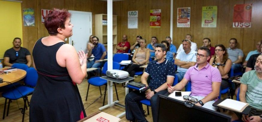 Nuevo curso de negociación colectiva en USO-Málaga