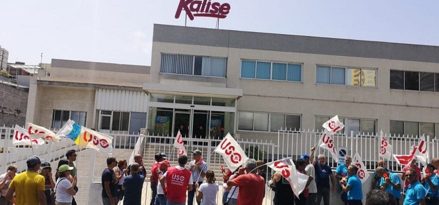 Kalise despide a tres delegados sindicales y persigue, reprime y coacciona a otros siete trabajadores