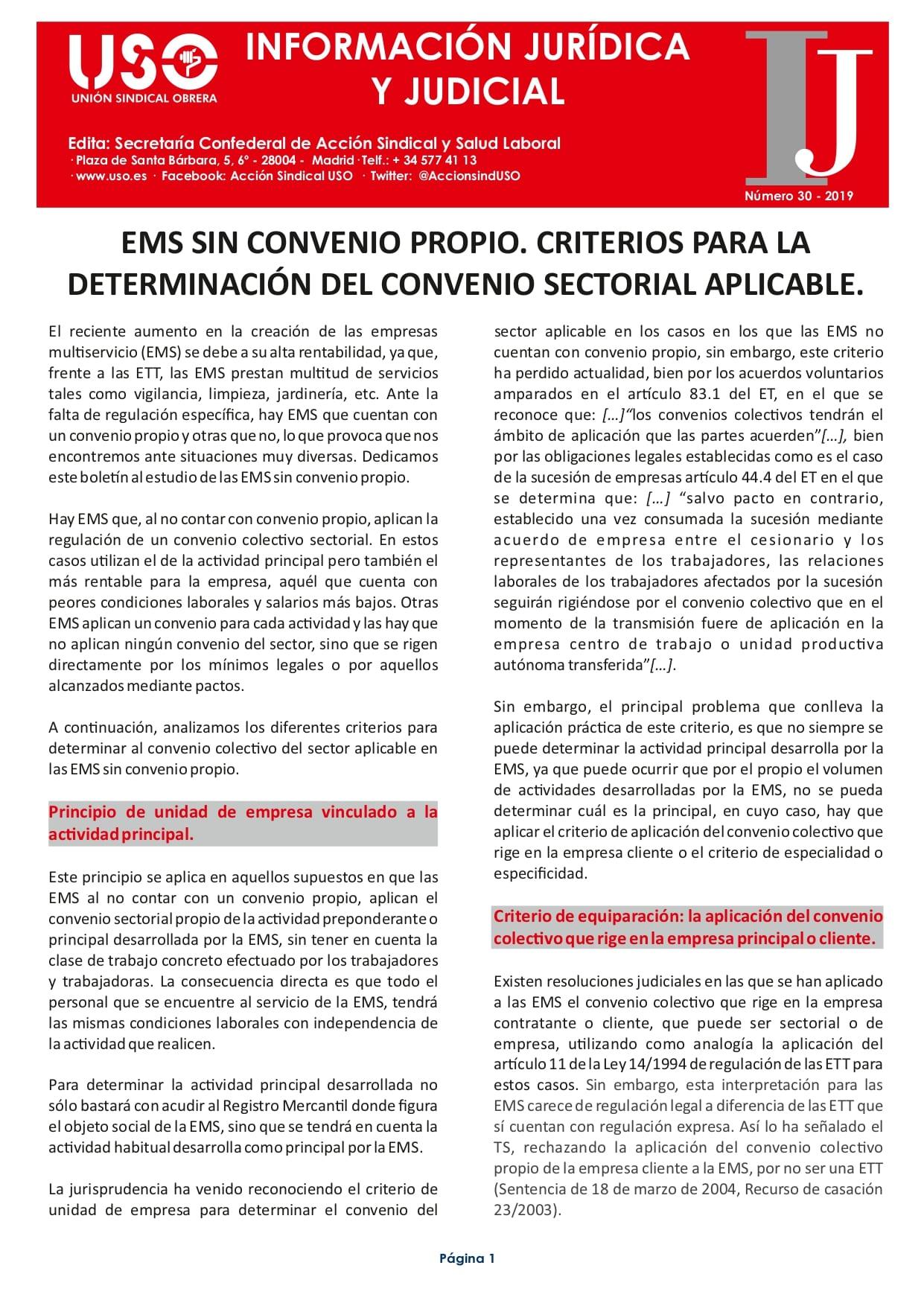 Información Jurídica y Judicial nº 30
