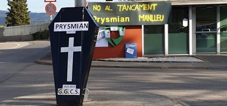 La industria catalana se enfrenta a dos ERES en TE Connectivity y Prysmian