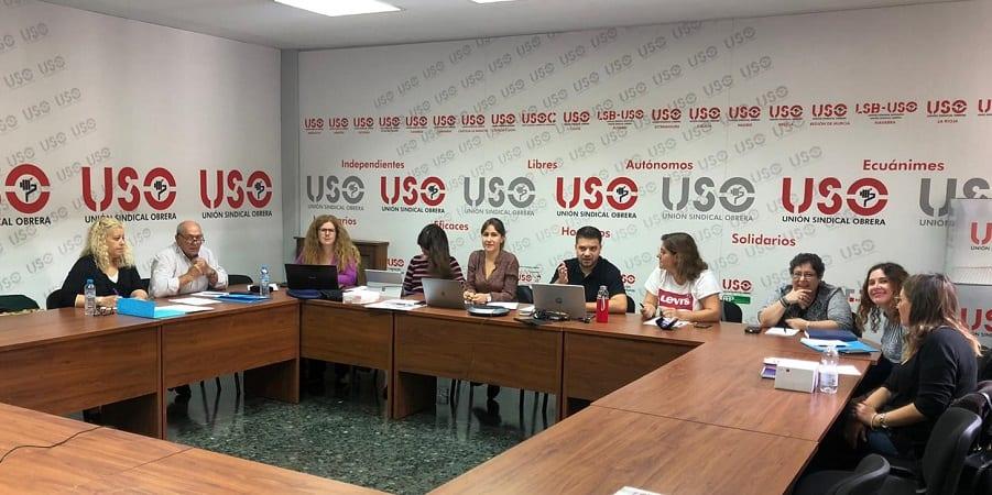 Igualdad USO celebra su reunión anual de responsables