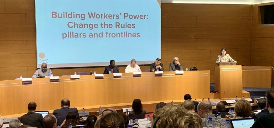 El Consejo General de la CSI refuerza las prioridades de los trabajadores ante la economía