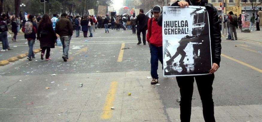 USO se solidariza con el pueblo chileno y sus sindicatos