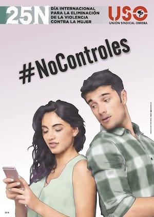 Campaña USO 25N 2019 #NoControles