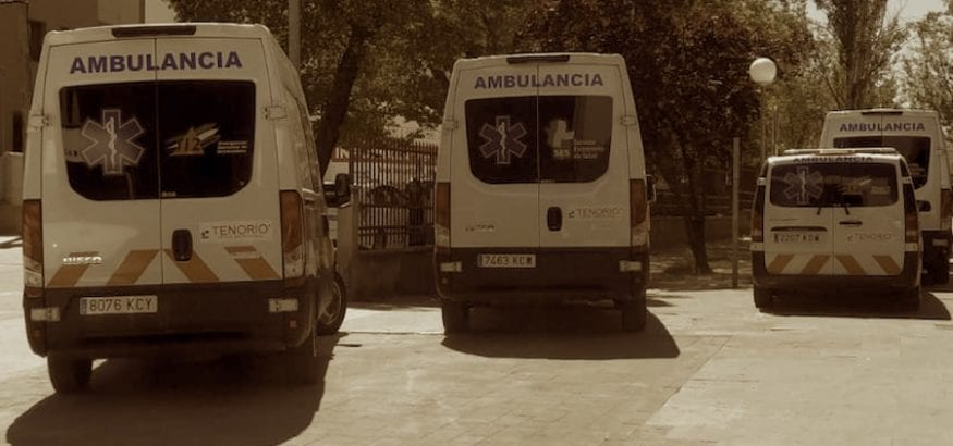Se retoma la negociación del convenio de ambulancias