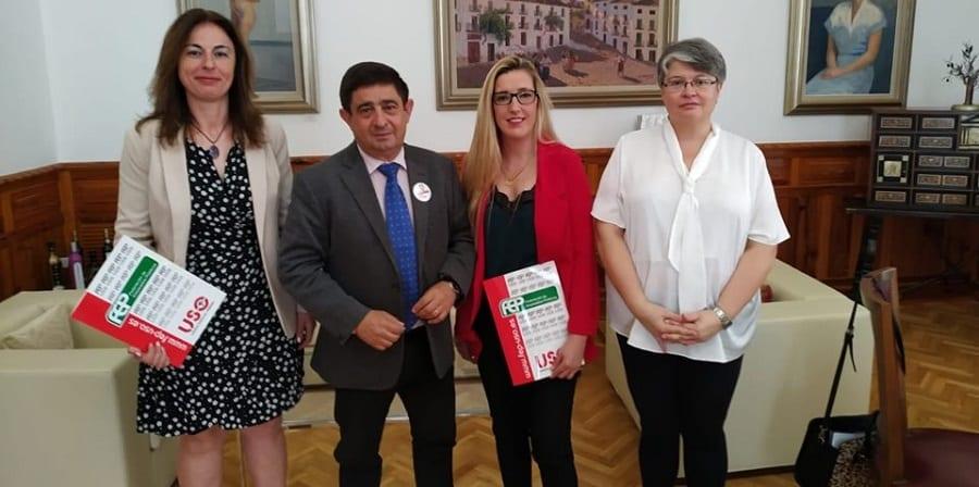 USO pide un convenio digno para el sector de Auxiliares de Ayuda a Domicilio de Jaén