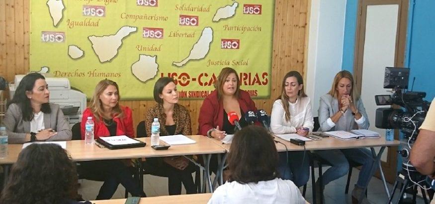 USO-Canarias denuncia la precaria situación de las trabajadoras de Mundo Nuevo