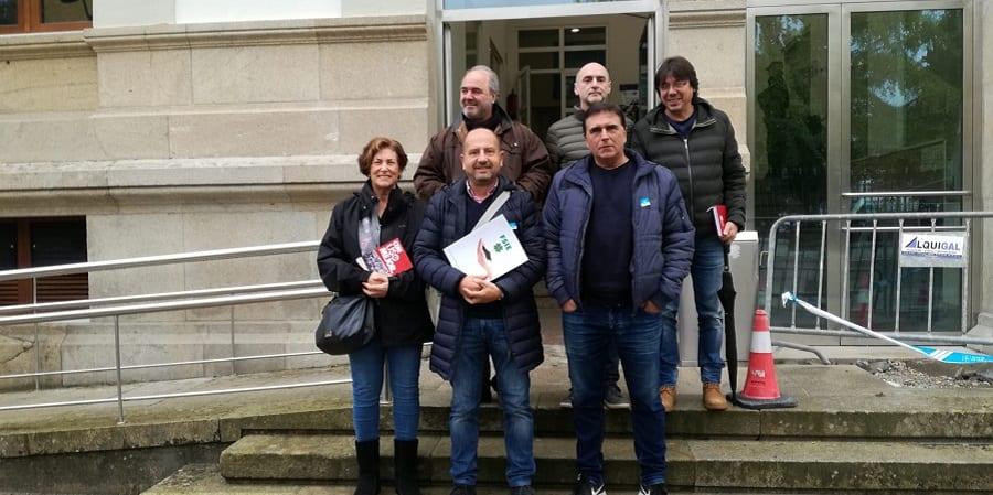 FEUSO-Galicia, desalojada de la Consellería por buscar una reunión sobre la Concertada