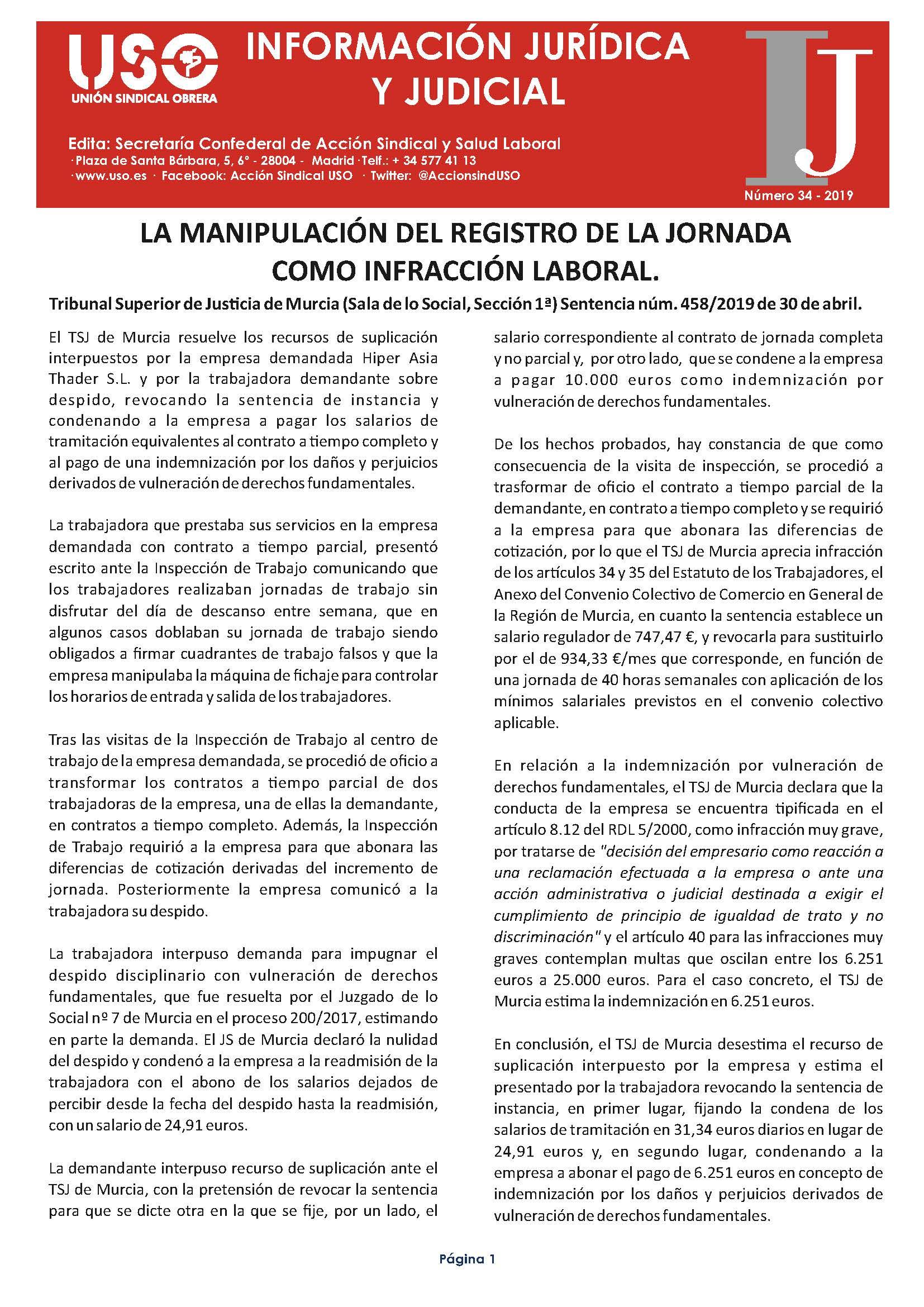 Información Jurídica y Judicial nº 34