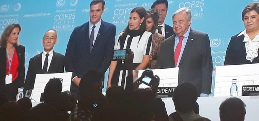 Arranca en Madrid la Cumbre del Clima