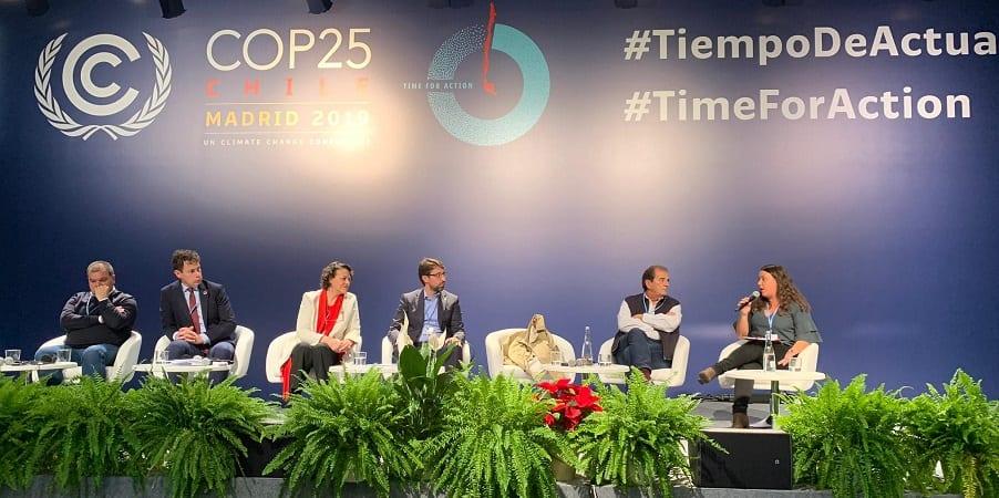 USO expone en la Cumbre del Clima su participación en el Acuerdo para la Transición Justa del Carbón