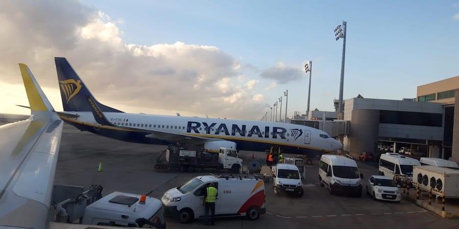 Los trabajadores de Ryanair no aceptan la reducción de jornada propuesta por la aerolínea