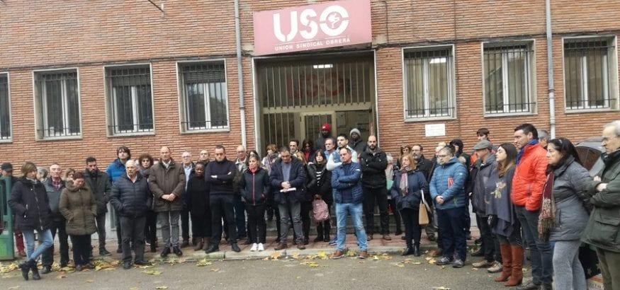 USO-La Rioja exige lucha firme contra siniestralidad laboral en el homenaje a nuestro delegado Dani