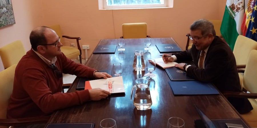 USO-Sevilla le traslada a Subdelegación su preocupación por las agresiones a vigilantes