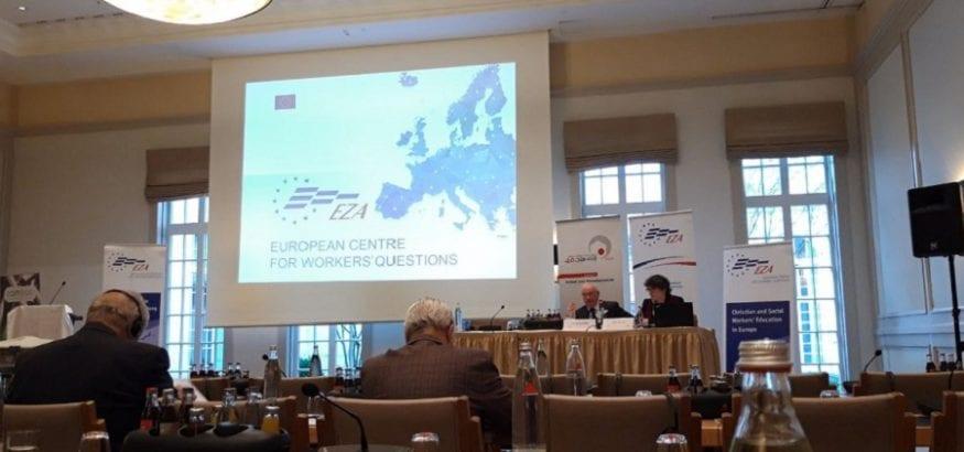 USO, en la Asamblea General de EZA en Alemania