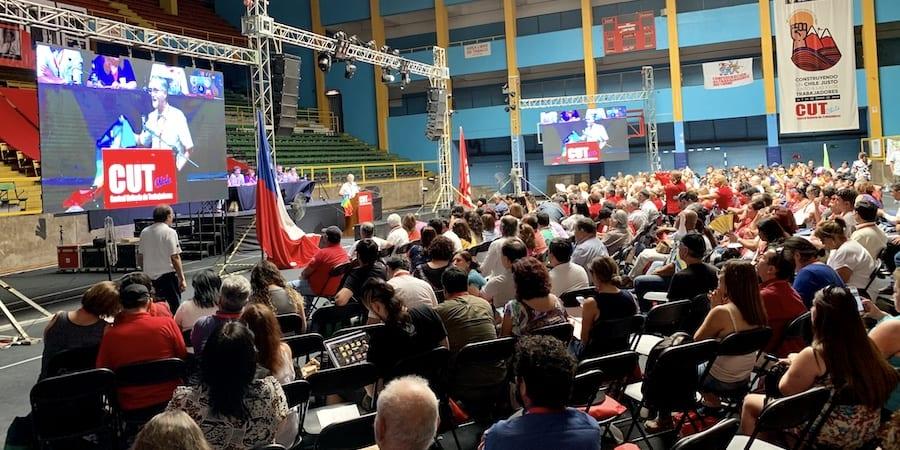 USO asiste al 12º Congreso de la CUT de Chile