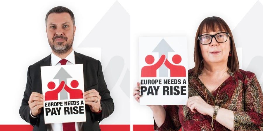 La CES trabaja ya en la propuesta de salario mínimo europeo