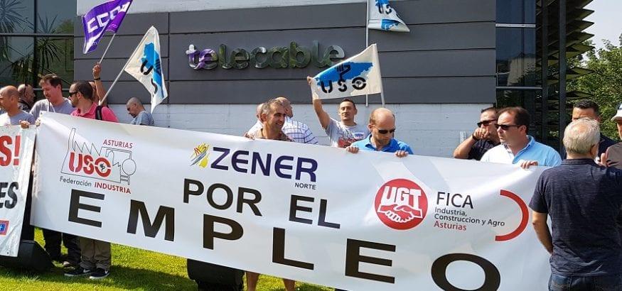 Los trabajadores de Zener Norte y Zener Comunicaciones irán a la huelga 4 y 10 de febrero