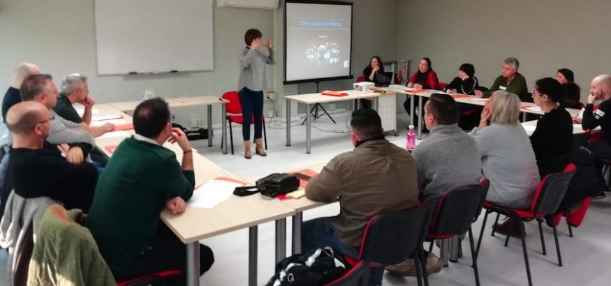 """USO arranca el Plan de Formación Sindical en Comunicación con el curso """"Cómo hablar en público"""""""