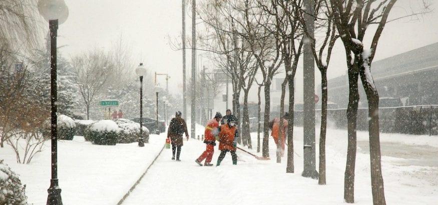 Recomendaciones de trabajo con nieve y frío