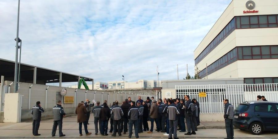 Schindler anuncia un ERE para 119 personas en Zaragoza